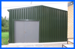 School grounds shed
