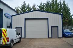 Home B Steel Buildings-Fleet services