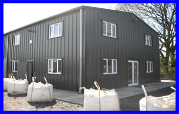 Store and workshop and offices