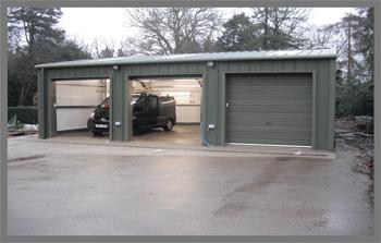 Estate storage building