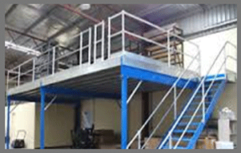 small storage mezzanine